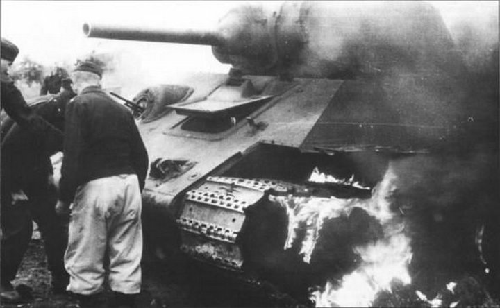 Подвиг танкистов под Ростовом в 1941