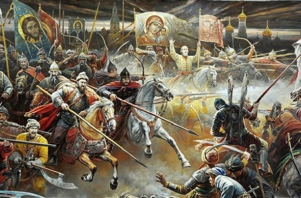 Москвичи vs. поляков