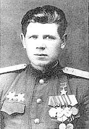 Герой Советского Союза лётчик - истребитель капитан Александр Кочетов