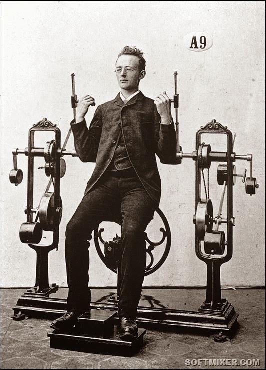 Винтажный фитнес