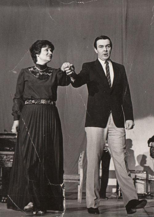 Портрет на двоих — Муслим Магомаев и Тамара Синявская