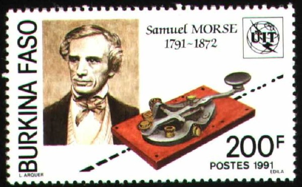 in 1844 samuel morse demonstrated the