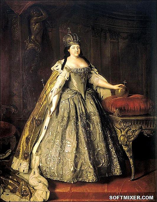 Коронационные платья российских императриц