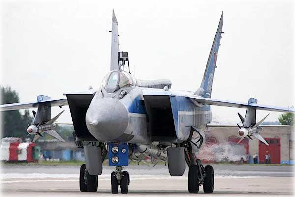 Истребитель – перехватчик Миг-31