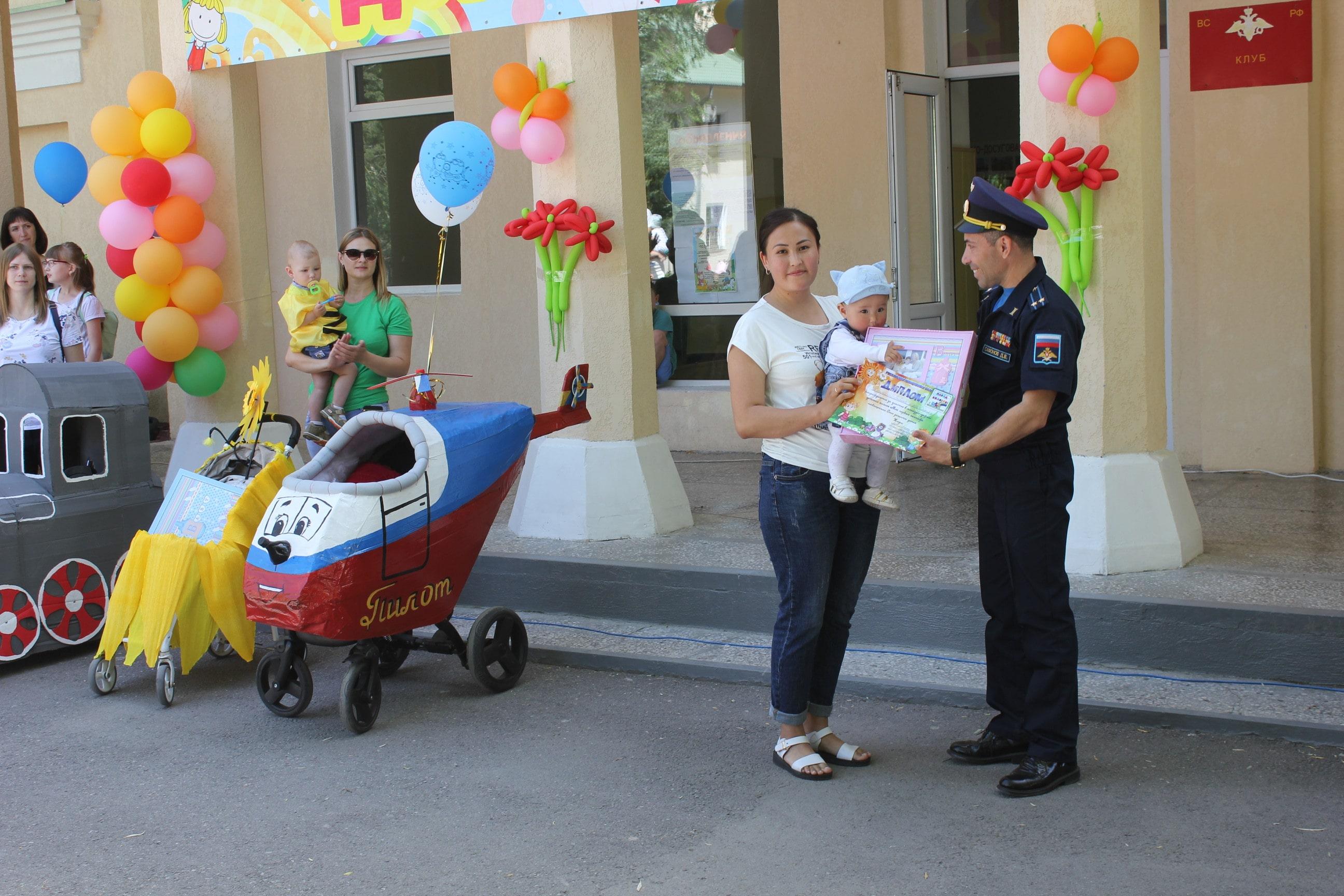 Празднование Международного дня защиты детей