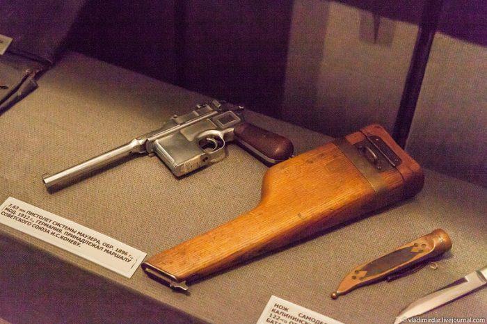 Пистолет системы Маузера
