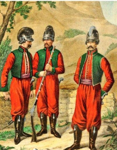 Как греки и албанцы за Россию воевали