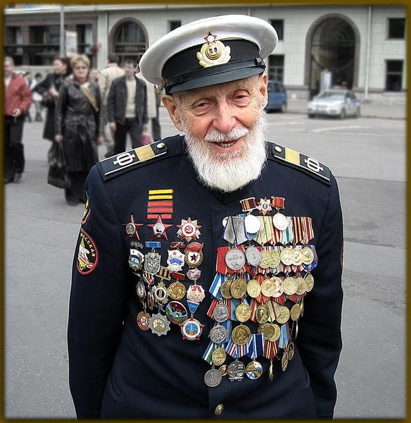 Коренной москвич. Участник трех войн