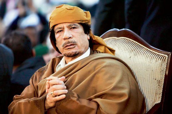 За что убили Каддафи