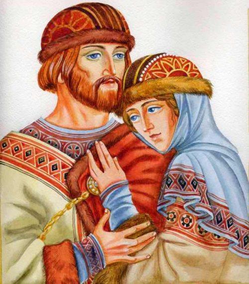 День любви и верности. Краткая история