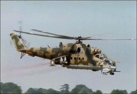 «Крокодил» - многоцелевой вертолёт МИ-24