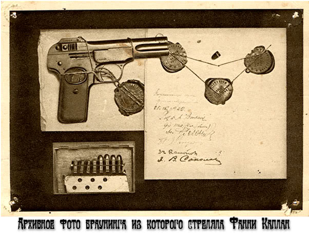 История жизненного пути террористки Фанни Каплан