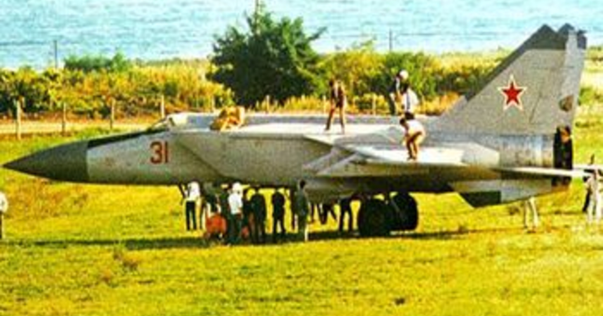 МиГ-25: История одного предательства