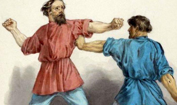 История русского кулачного боя