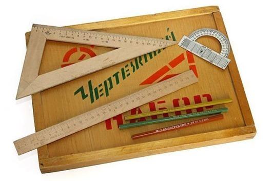 Школьные принадлежности советских детей