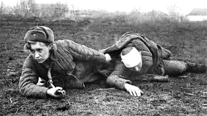 Была ли любовь на войне?