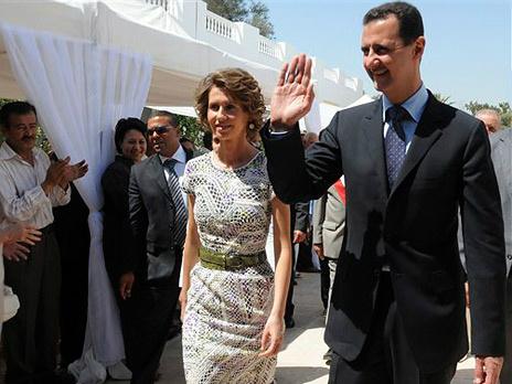 """Асма аль-Асад - """"Роза пустыни"""""""