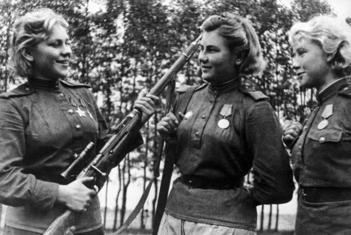Снайпер Роза Шанина — «невидимый ужас Восточной Пруссии»