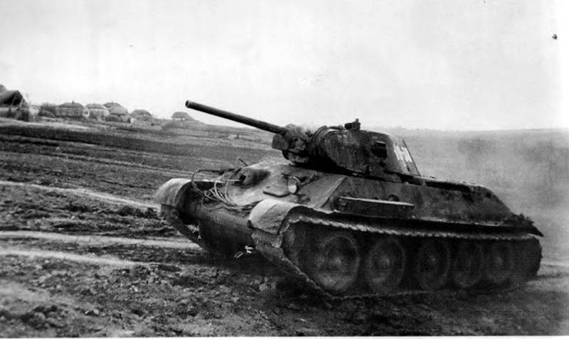 Подвиг экипажа танка Степана Горобца