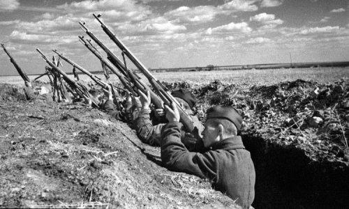 Как снайперы СССР сбивали немецкие самолеты...