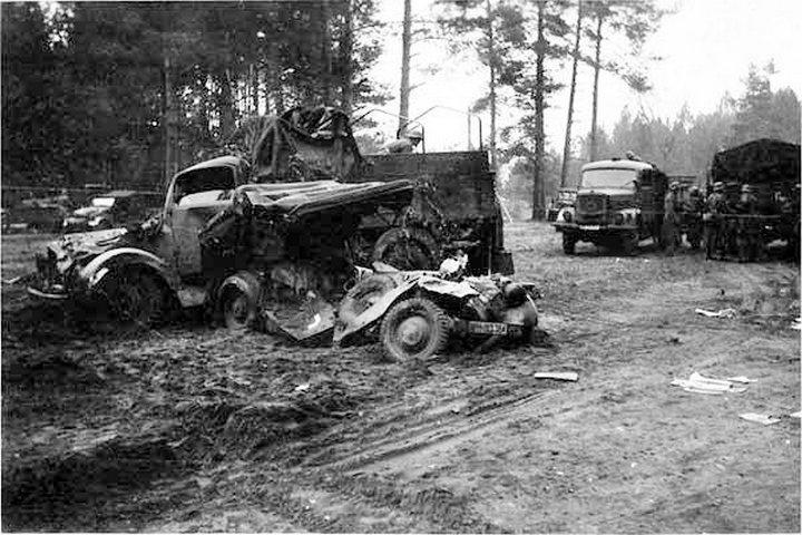 Подвиг неизвестных танкистов в октябре 1941-го...