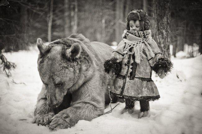 Как Иван Тиньков притворился медведем