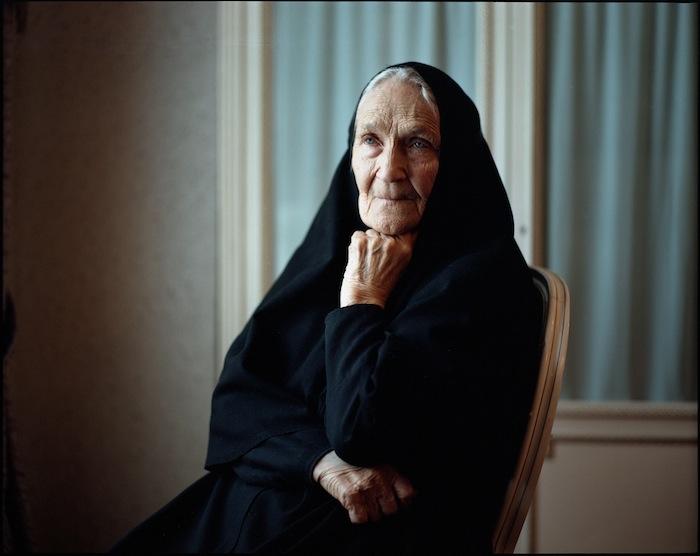 Майор разведки монахиня Адриана