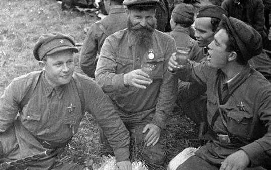 Красные капли партизанского подвига