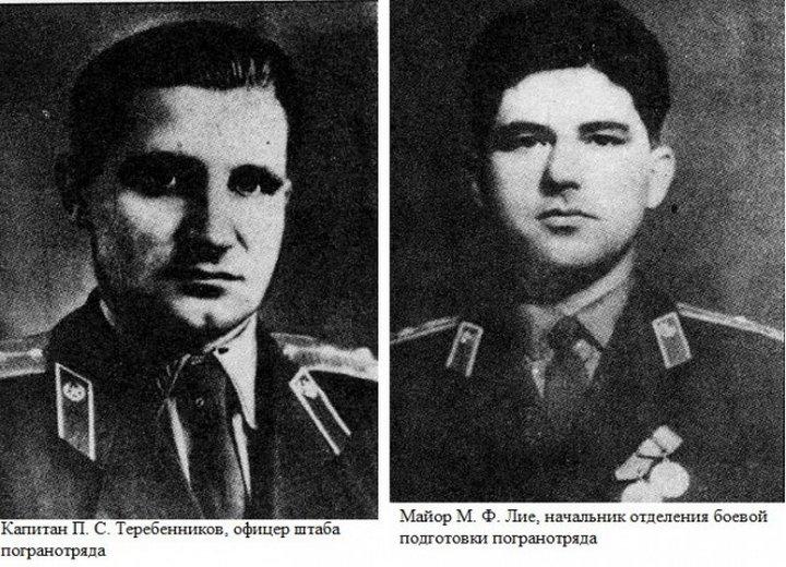Советские пограничники vs китайцев
