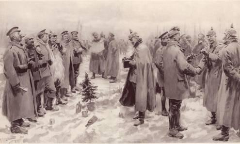 Рождество, остановившее войну...
