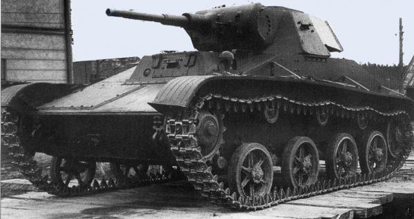 Подвиг лейтенанта Останюка: Как один Т-60 передавил немецкую роту
