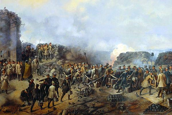 Забытое ополчение: Неизвестные страницы Крымской войны