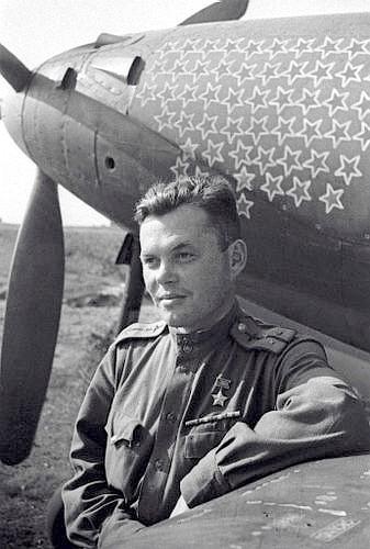 Уральский летчик Герой Речкалов Григорий Андреевич