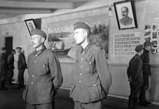 Быт немцев в советском плену