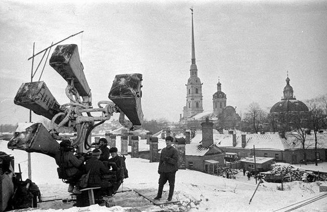 Блокадный Ленинград спасали слепые слухачи