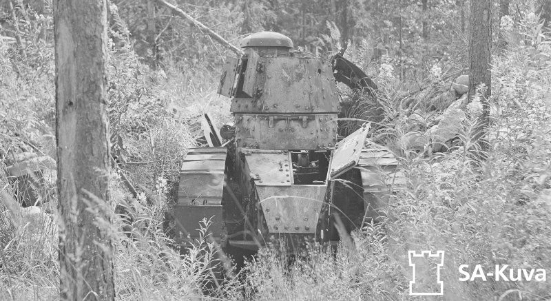 Два танковых боя Советско-Финской войны 1939-40 гг.