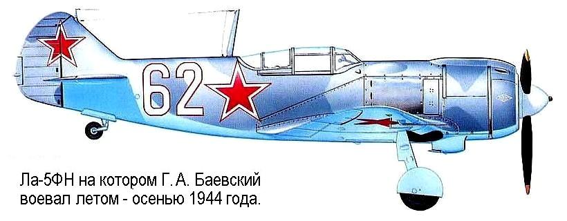Герой Советского Союза Баевский Георгий Артурович