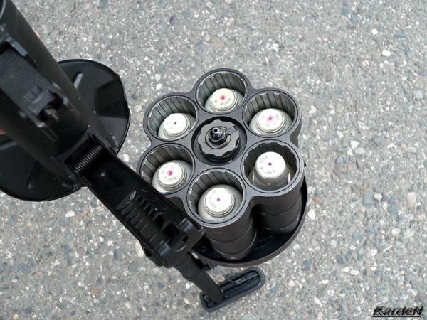 Револьверный гранатомет РГ-6