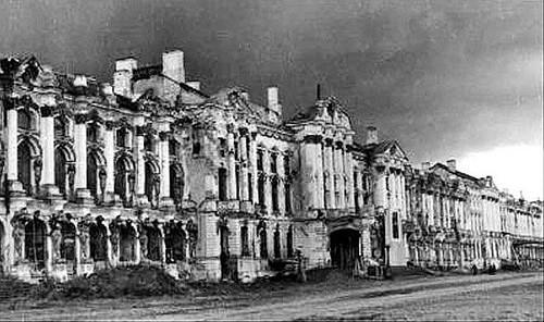 Об уничтожении и разграблении культурных богатств Советского Союза