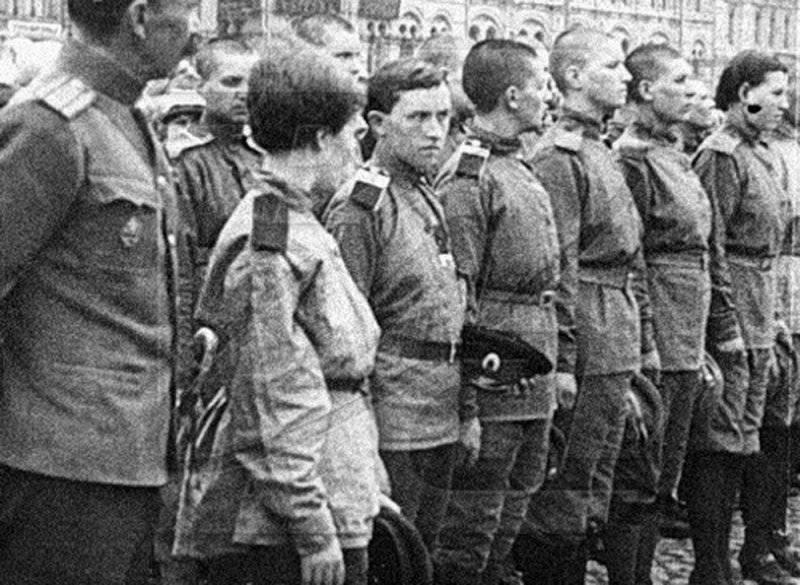 "Женский ""батальон смерти"" Марии Бочкаревой"