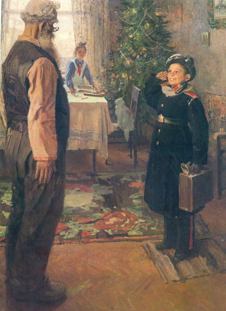 История одного шедевра: «Опять двойка» Решетникова