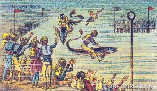 Как в 1900 году представляли будущее
