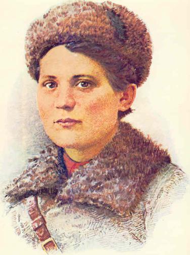 Дочь Брянских лесов Валентина Сафронова