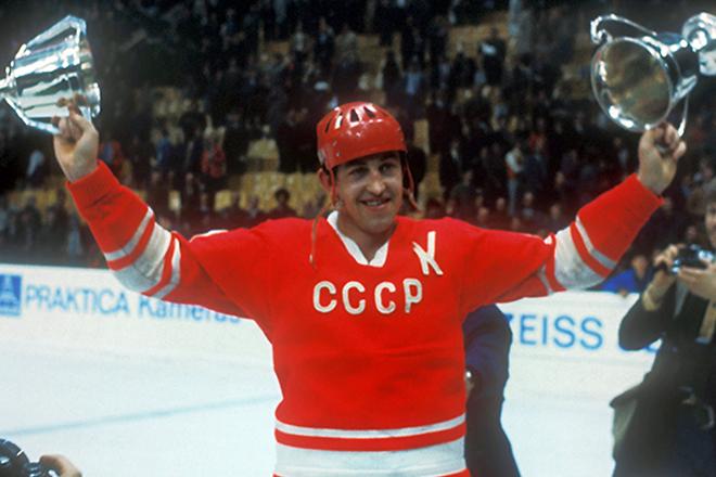 Легенда советского хоккея - Борис Михайлов