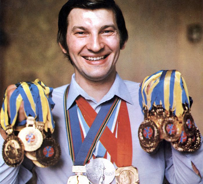Легенда советского хоккея Владислав Третьяк