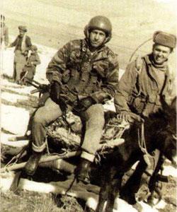 Спецназовец с протезом на ноге