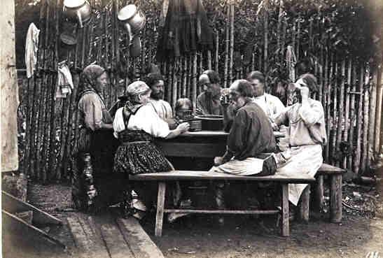 Как питались русские крестьяне?