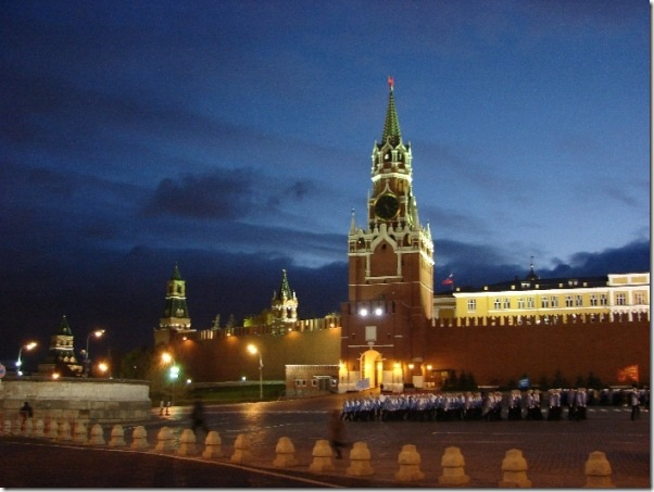 Спасская башня. Кремлёвские Куранты