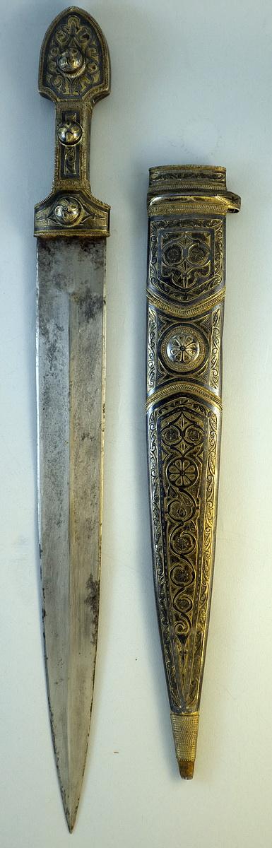 Холодное оружие. Кама — кавказский кинжал