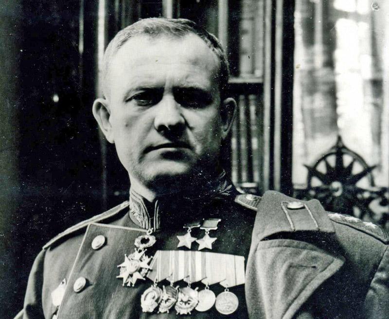Дважды Герой Советского Союза Тимофей Хрюкин